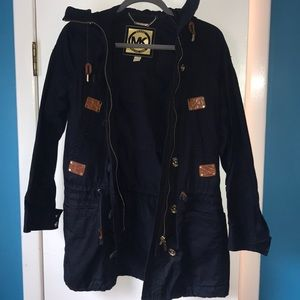 Michael Kors Navy Cargo Jacket